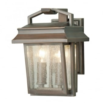 Newlyn Wrought Iron Outdoor Wall Light
