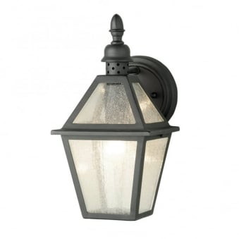 Polruan Wrought Iron Outdoor Wall Light
