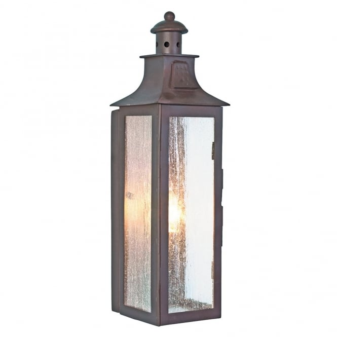 Elstead Lighting Stow Wrought Iron Outdoor Wall Light