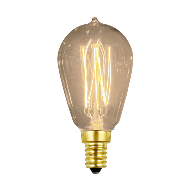 Elstead Lighting Vintage Decorative Edison Lamp E14 Ses