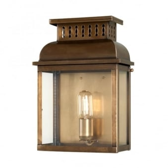 Westminster Abbey Solid Brass Outdoor Wall Lantern