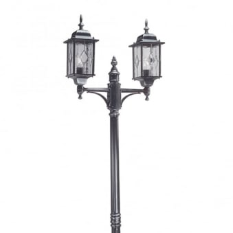 Wexford Outdoor Twin Lamp Post