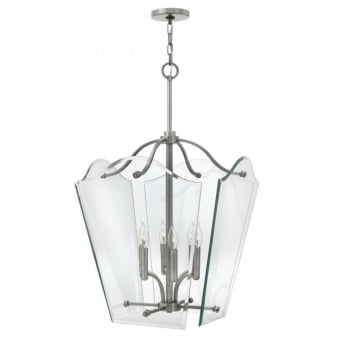 Wingate Bevelled Glass Large Pendant