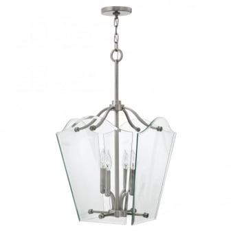 Wingate Bevelled Glass Medium Pendant