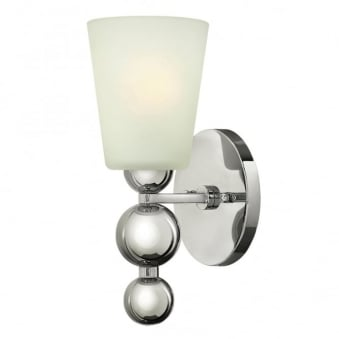 Zelda Wall Light in Polished Nickel