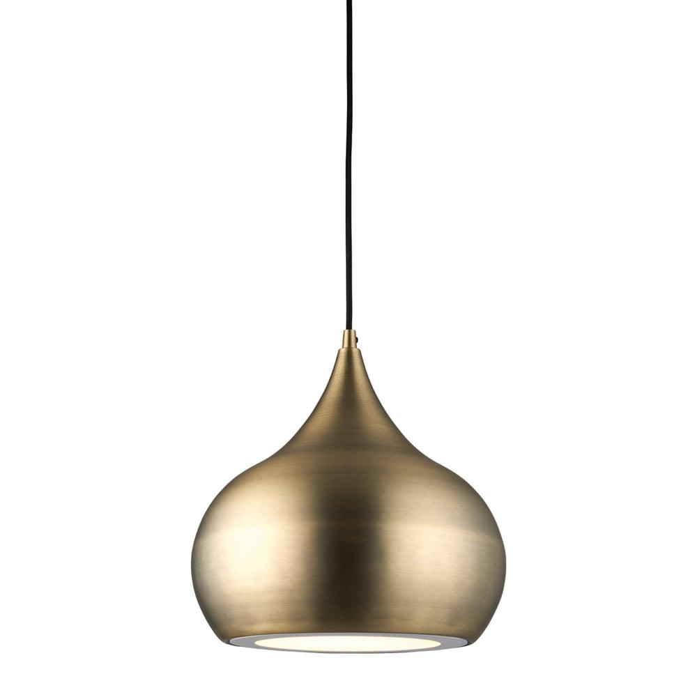 Endon 61299 brosnan led matt antique brass pendant light brosnan led matt antique brass pendant light aloadofball Choice Image