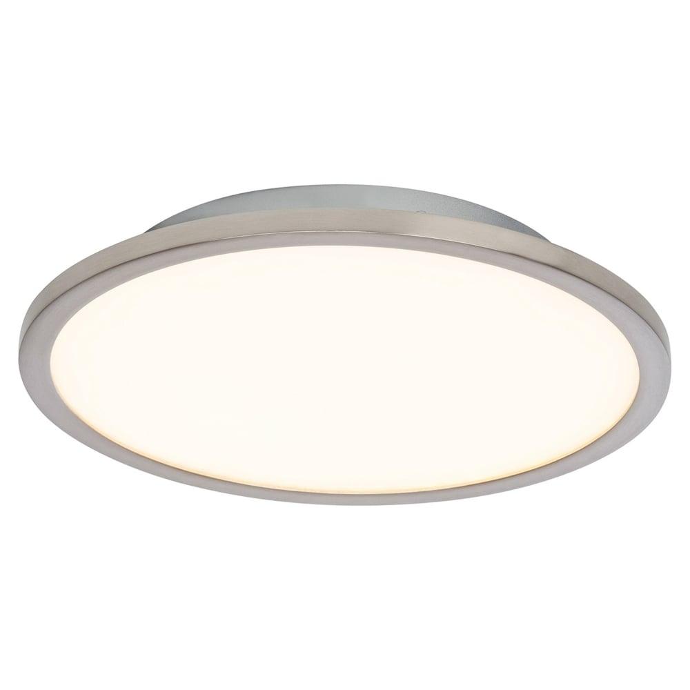 easy lighting. Ceres LED 250mm Flush Easy Dim Ceiling Light In Nickel Lighting Y