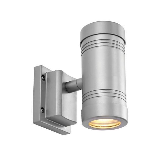 Endon Lighting Gigo Aluminium Swivel Up and Down LED IP55 Outdoor Wall Light