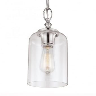 Hounslow Mini Pendant in Polished Nickel