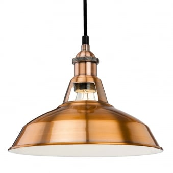 Albany Pendant in a Brushed Copper Finish
