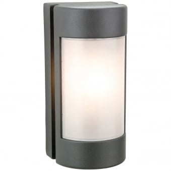 Arena IP44 Exterior Wall Light in Graphite