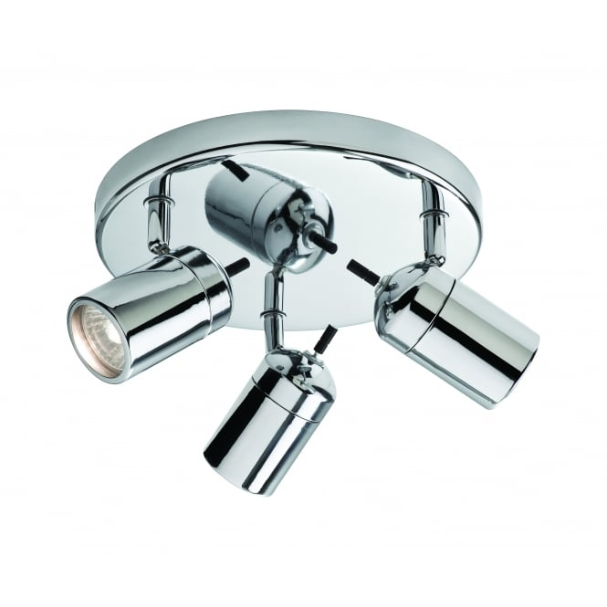 Firstlight Atlantic Triple Flush Fit Spotlight In Chrome