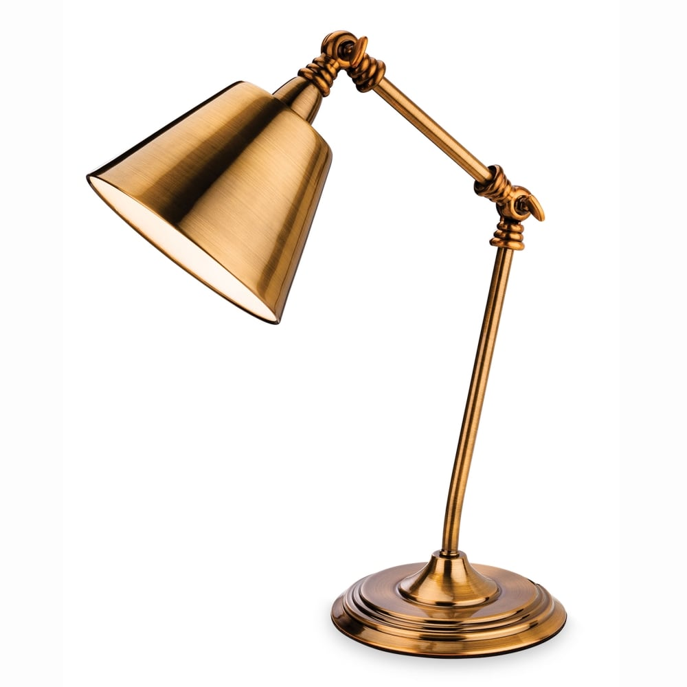 Firstlight clarion table lamp in antique gold fitting type from clarion table lamp in antique gold aloadofball Gallery