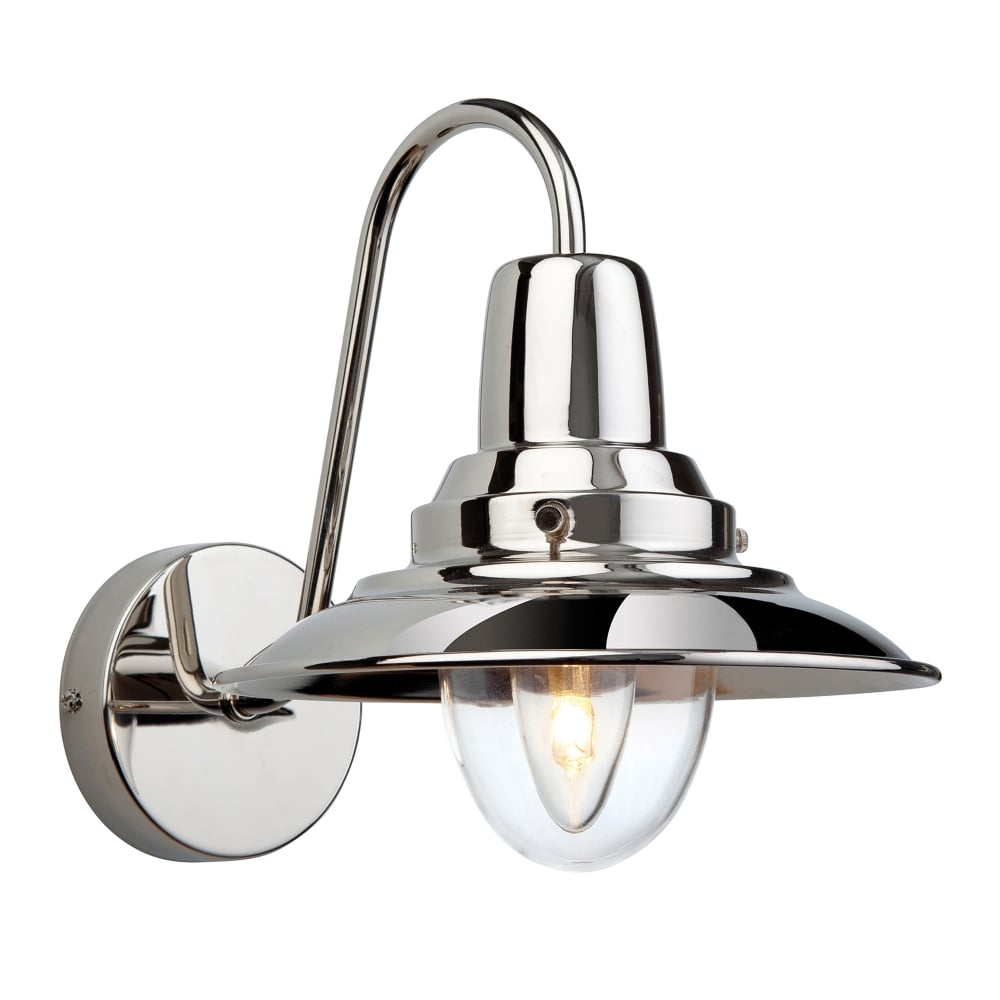 Firstlight fisherman wall light in chrome fitting type from dusk fisherman wall light in chrome mozeypictures Image collections