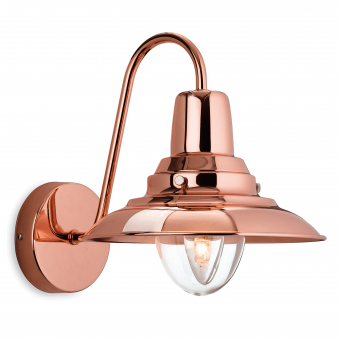 Fisherman Wall Light in Copper
