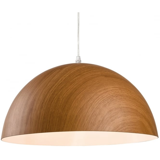 Firstlight Forest Dome Design Pendant Light with Wood Finish