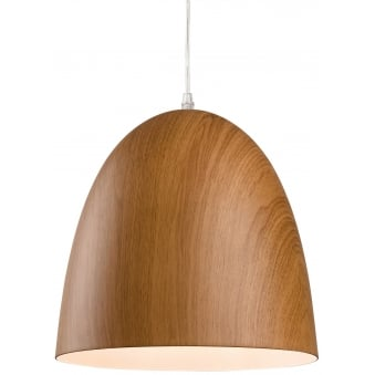 Forest Pendant Light with Wood Finish