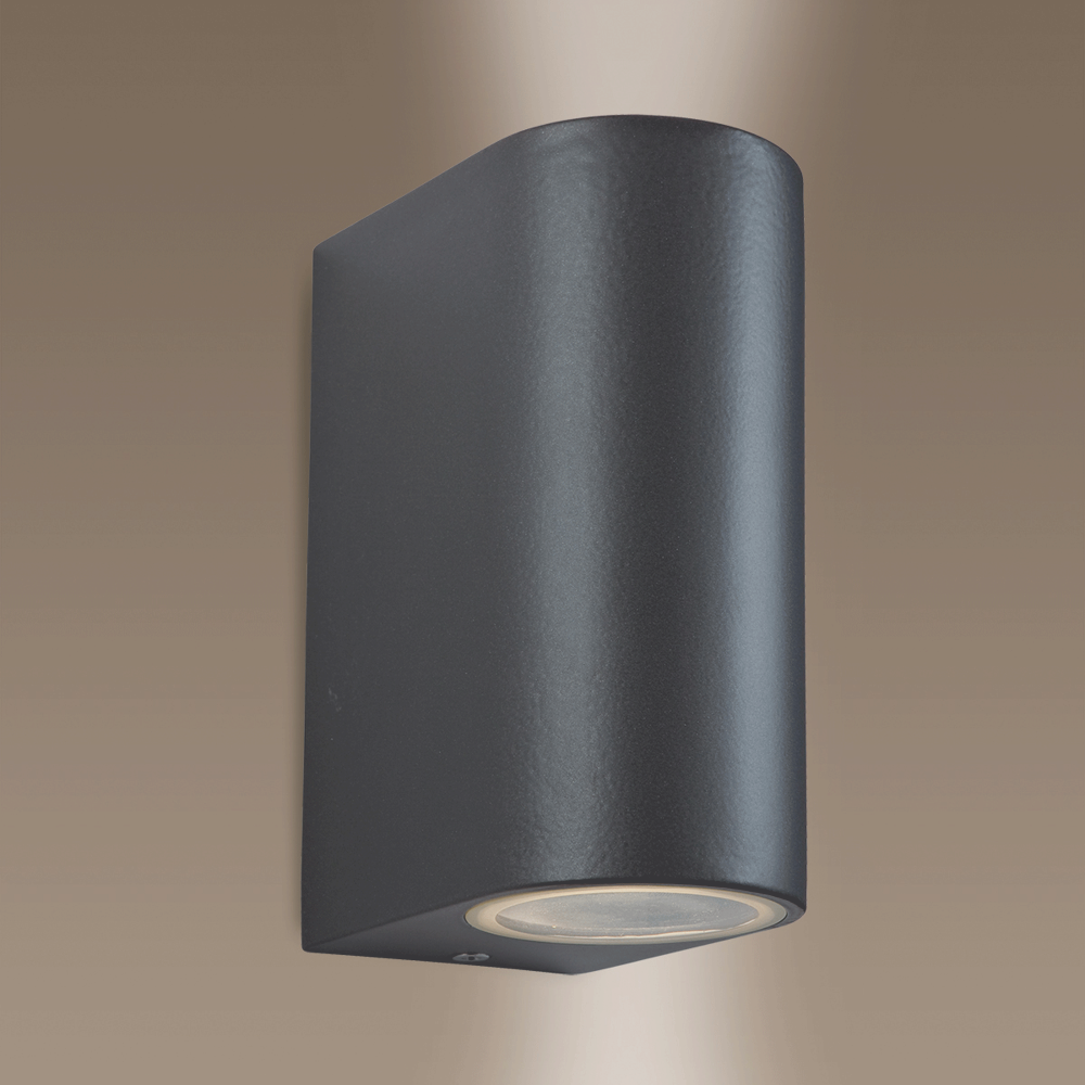 Firstlight scenic up and down exterior wall light in gun metal scenic up and down exterior wall light in gun metal aloadofball Images