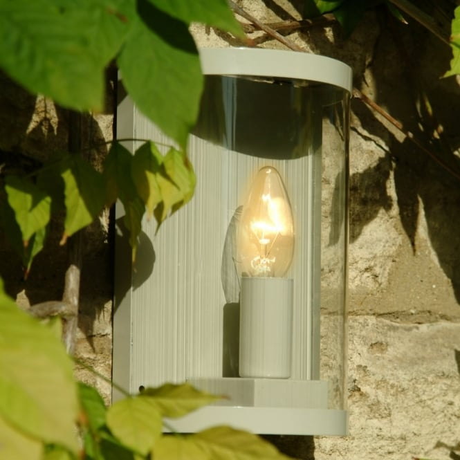 Garden Trading Outdoor Wall Lights : Garden Trading Asthall Outdoor Wall Lamp in Clay - Kitchen Lighting from Dusk Lighting UK