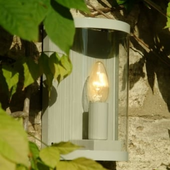 Asthall Outdoor Wall Lamp in Clay
