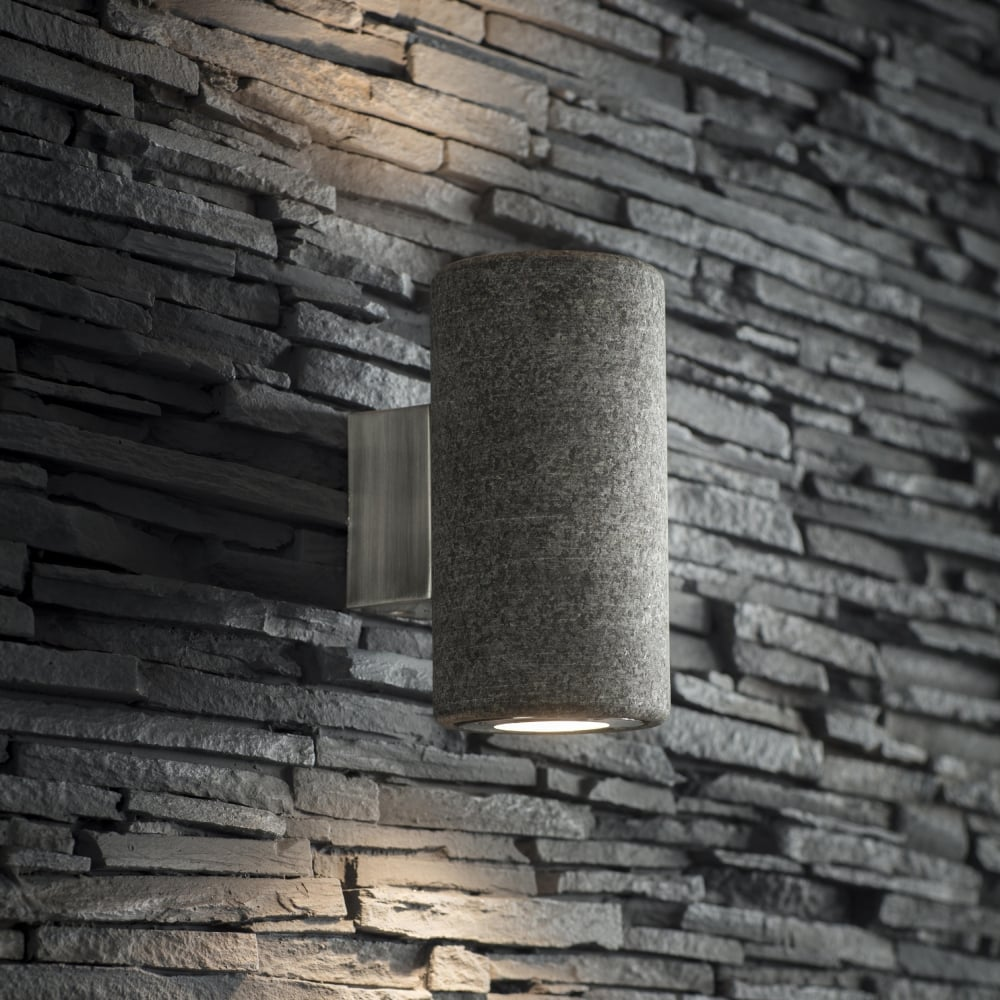 Garden trading lagr05 austell up down ip44 wall light in granite austell up and down ip44 outdoor wall light in granite aloadofball Images
