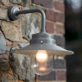 Belfast Outdoor Wall Lamp in Charcoal