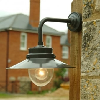 Belfast Outdoor Wall Lamp in Coffee Bean