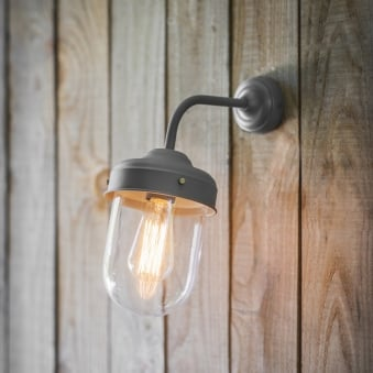 Big Barn Wall Light in Charcoal
