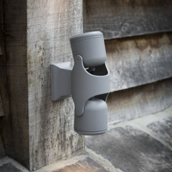 Bovingdon Double Adjustable IP44 Outdoor Wall Light