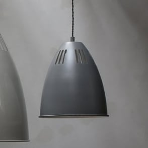 small lighting. cavendish small vented pendant light in charcoal lighting