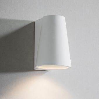 Elswick White Plaster Up or Down Wall Light