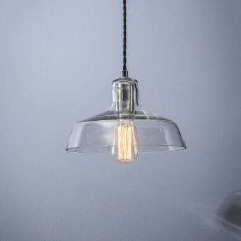 Hoxton Glass Pendant Light