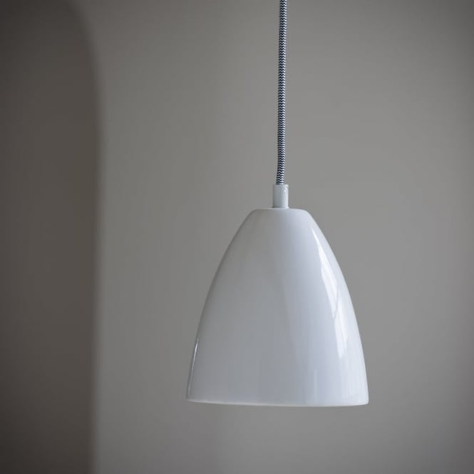 Garden Trading Rennes Pendant Light in Chalk