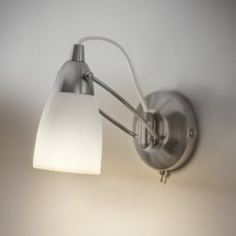 Shoreditch Wall Light In Porcelain White