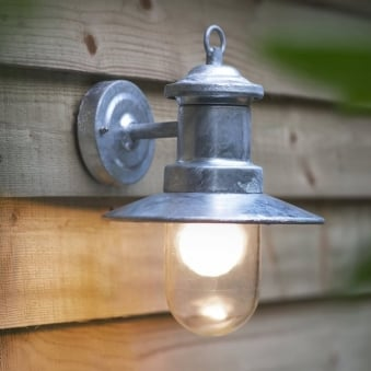 St Ives Ships Wall Light - Galvanised