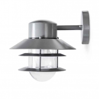 St Ives Strand Exterior Down Wall Light in Charcoal