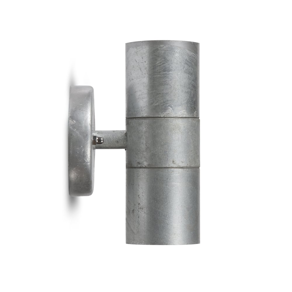 Garden Trading St Ives Up and Down Exterior Galvanised Wall Light