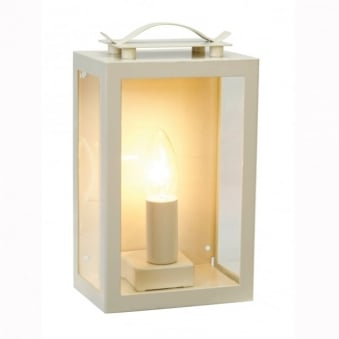 Swinbrook Outdoor Wall Lantern in Clay