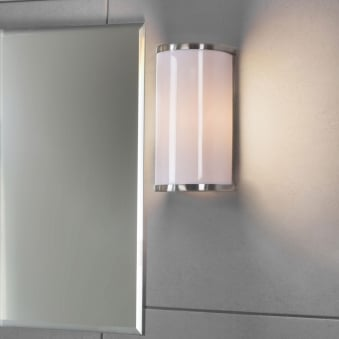 Wardour Bathroom Light in Satin Nickel