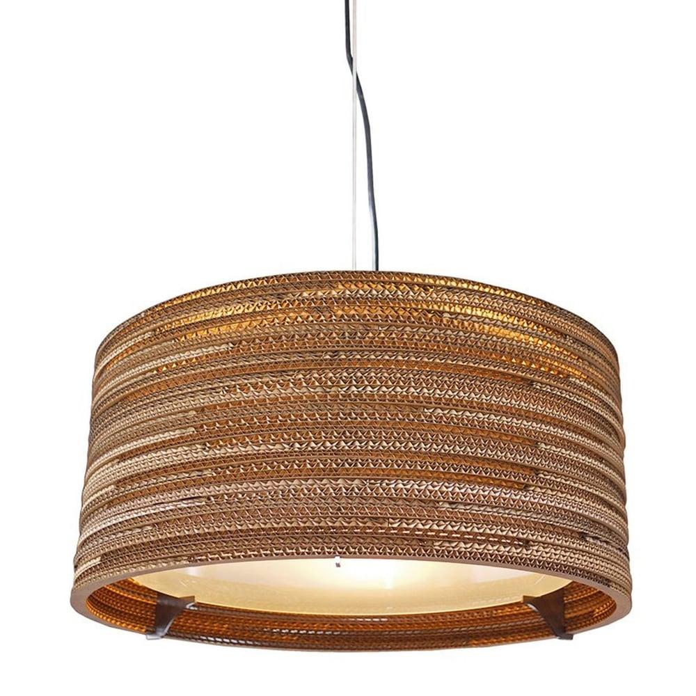 Designer Drum 24 Pendant Light  sc 1 st  Dusk Lighting & Graypants Designer Drum 24 Pendant Light - Fitting Type from Dusk ...