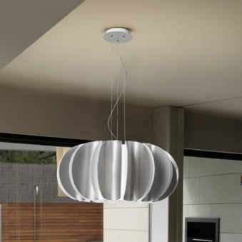 Blomma Grey Pendant Light