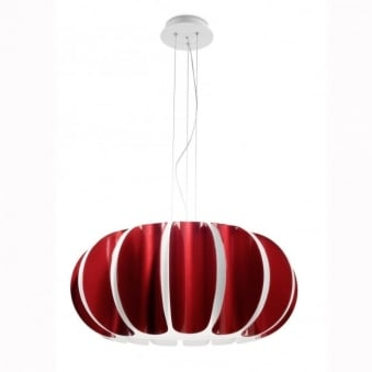 Blomma Red Pendant Light