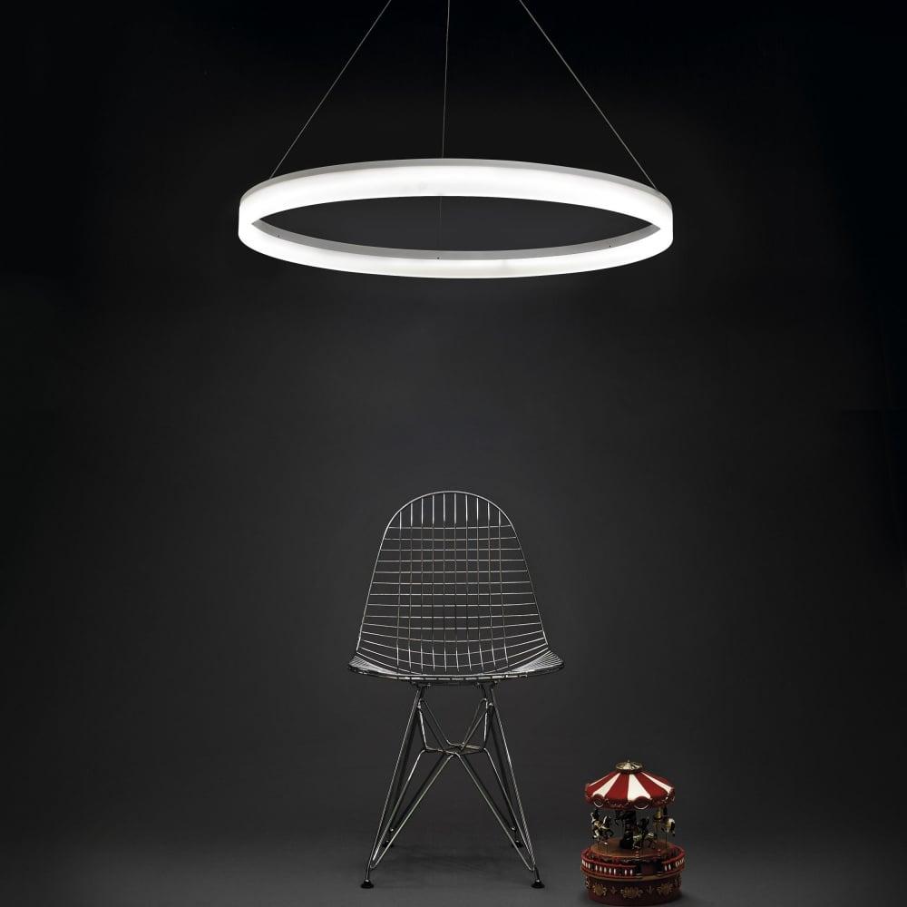 Grok circ 1000 matt white circular dimmable led pendant light circ 1000 matt white circular dimmable led pendant light aloadofball Image collections