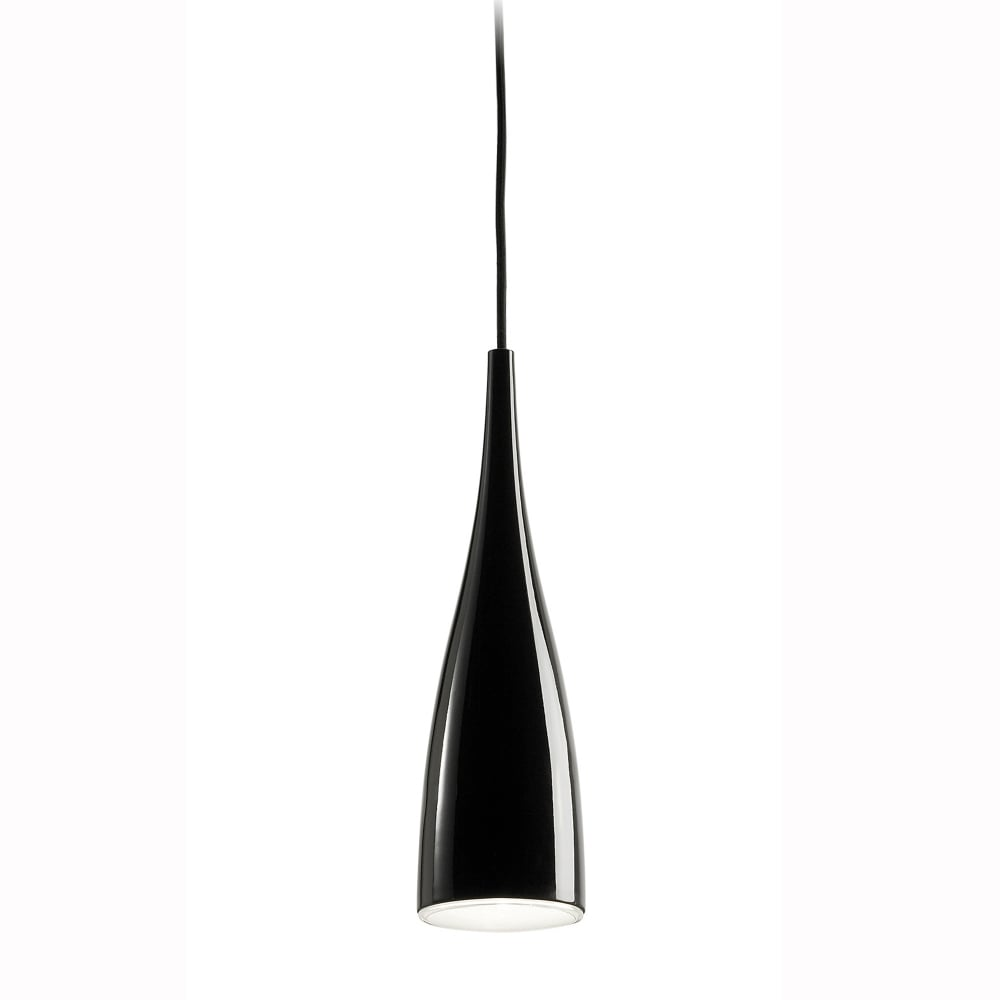 Grok Clear Black Pendant Light  sc 1 st  Dusk Lighting & Grok Clear Black Pendant Light - Fitting Type from Dusk Lighting UK