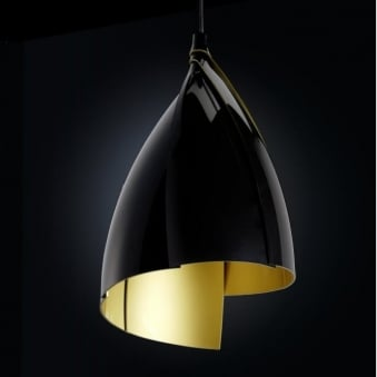 Grok Tulip Black Breakfast Bar Pendant Light