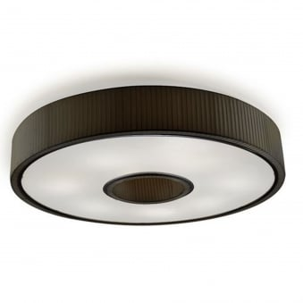 Spin 1000 Black Ceiling Light