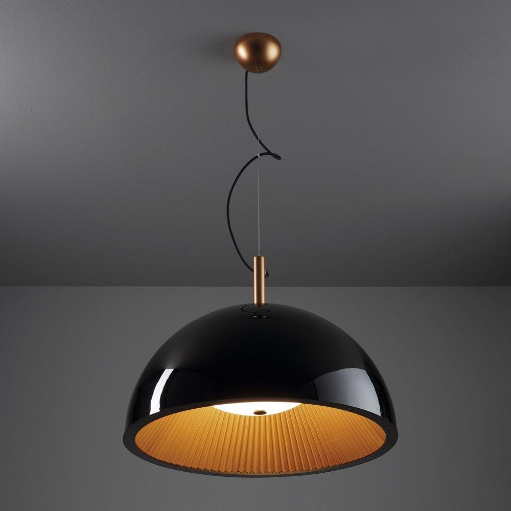 Grok umbrella 60cm black pendant light