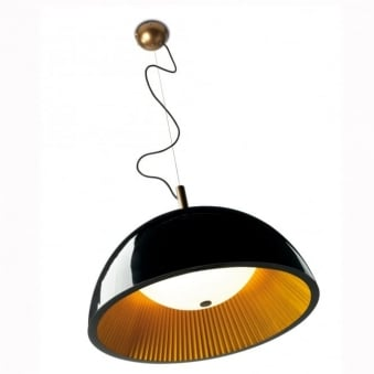 Umbrella 60cm Black Pendant Light