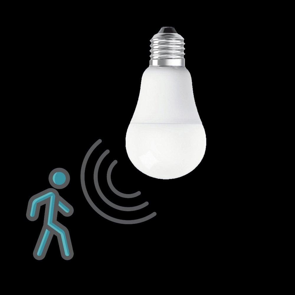 Sensor Motion LED Bulb Microwave COLORS E27 7W ZiPXkuO