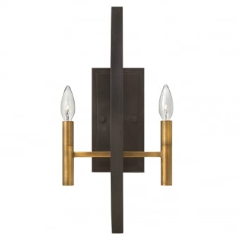 Euclid 2 Light Wall Light in Spanish Bronze